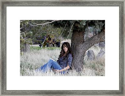 Sarah_4 Framed Print by Ivete Basso Photography