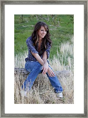 Sarah_5 Framed Print by Ivete Basso Photography