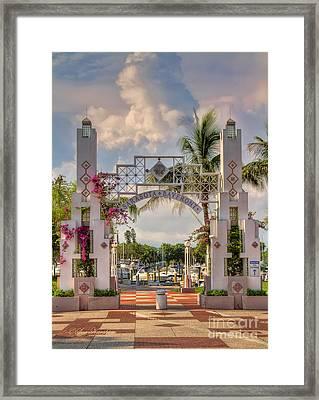 Sarasota Bayside Framed Print