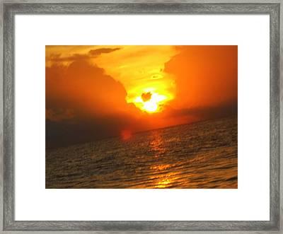 Sarasota Sky Framed Print