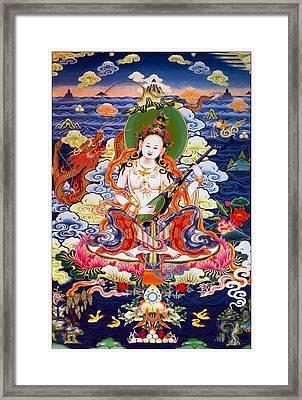 Saraswati 12 Framed Print by Lanjee Chee