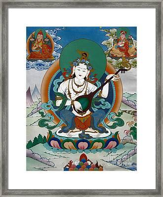 Saraswati 13 Framed Print by Lanjee Chee