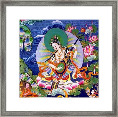 Saraswati 5 Framed Print by Lanjee Chee