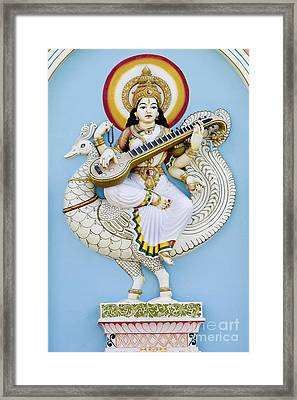 Saraswati Framed Print by Tim Gainey