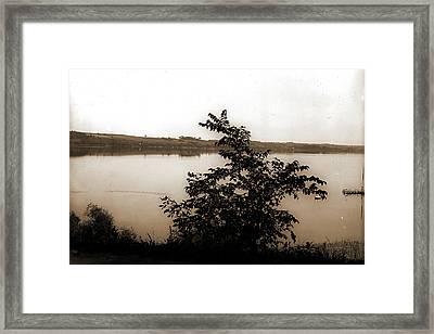 Saratoga Lake, N Framed Print