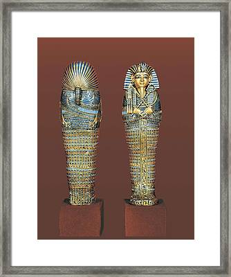 Sarcophagus For The Viscera. 1375 - Framed Print by Everett