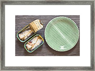 Sardines Framed Print by Tom Gowanlock