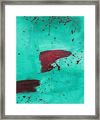 Sargasso Sea C2013 Framed Print by Paul Ashby