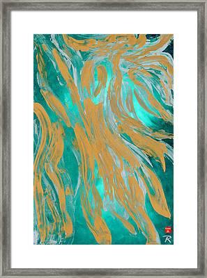 Sargasso Siren Framed Print
