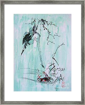 Saru Kani Kassen Framed Print by Roberto Prusso