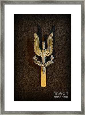 Sas - Special Air Service - Who Dares Wins Framed Print