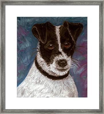 Sassy 2 Pastel Framed Print