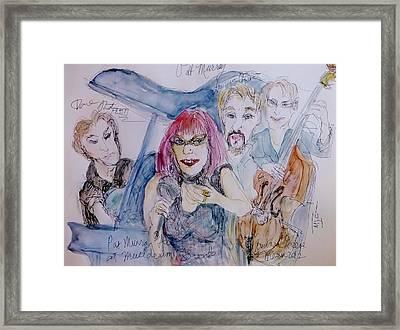 Sassy Pat Murray Framed Print by Barb Greene mann