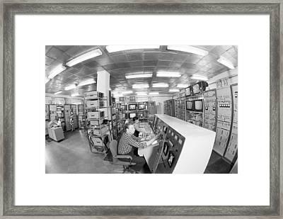 Satellite Control Room, 1980 Framed Print