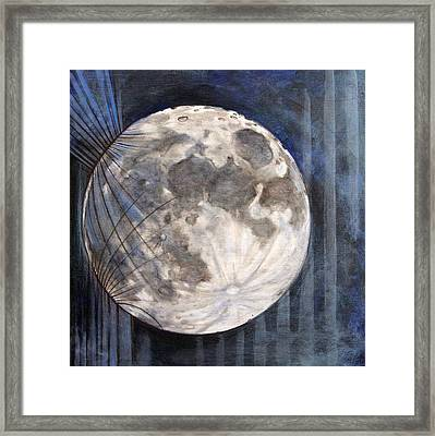 Satellite  Framed Print by Stacey Sherman