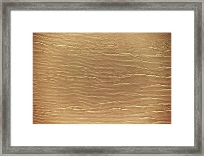 Satellite View Of Sahara Desert, New Framed Print