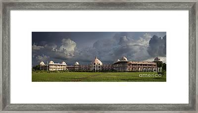 Sathya Sai Baba Super Speciality Hospital Framed Print