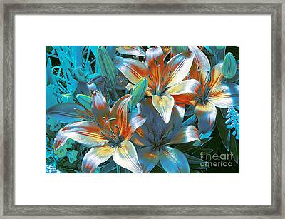 Satin Framed Print by Kathleen Struckle