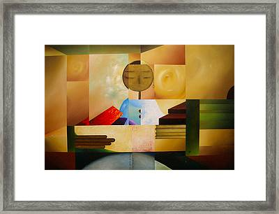 Satori Framed Print by Laurend Doumba