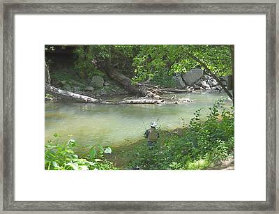Framed Print featuring the photograph Saturday Afternoon by Judith Morris