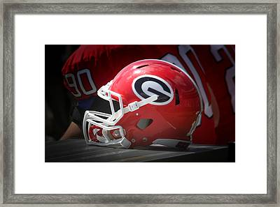 Saturday In Athens Framed Print