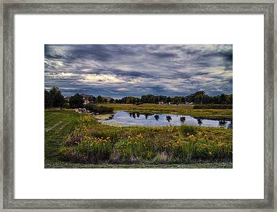 Saturday In The Parks Framed Print