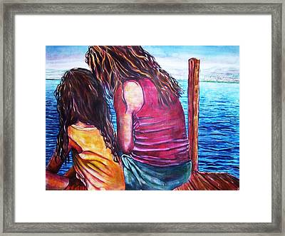 Saturday Framed Print by Linda Vaughon