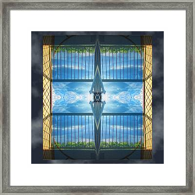 Saturday Morning View Framed Print by Wendy J St Christopher