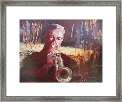 Framed Print featuring the painting Saturday Night Ritual  by John  Svenson