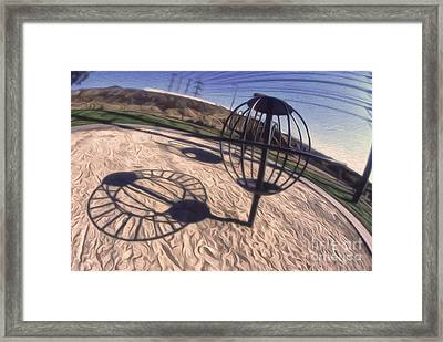 Saturn Framed Print by Gregory Dyer