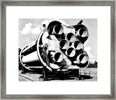Saturn I Framed Print by Benjamin Yeager