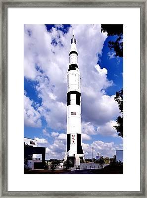 Saturn V Framed Print