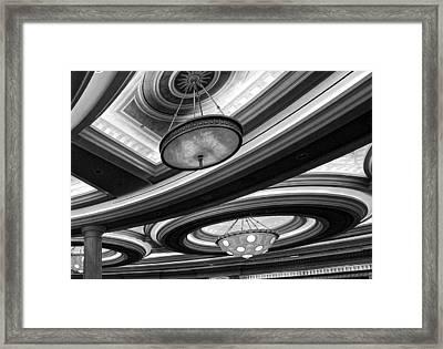 Saturn's Rings Framed Print