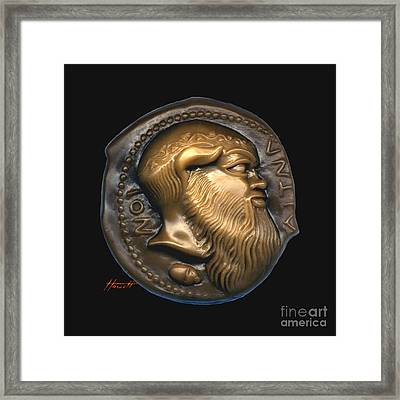 Satyr Or Silenos Framed Print by Patricia Howitt