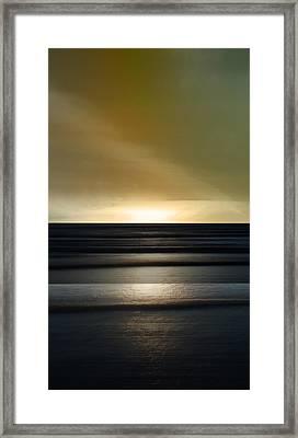 Sauble Beach - Twilight Framed Print