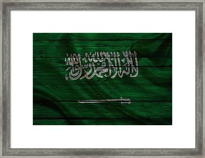 Saudi Arabia Framed Print