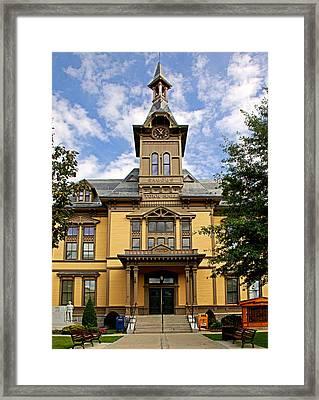 Saugus Town Hall Framed Print
