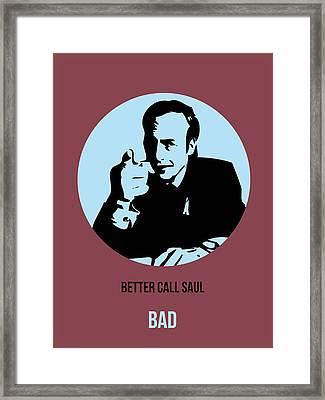 Saul Poster 1 Framed Print by Naxart Studio