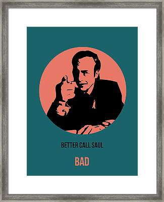 Saul Poster 2 Framed Print by Naxart Studio