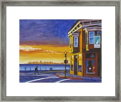Sausalito Framed Print by Kevin Hughes