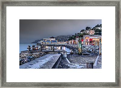 Sausalito Waterfront 3 Framed Print