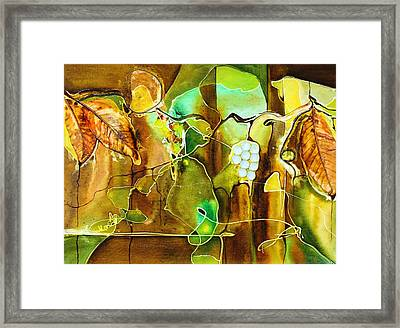 Sauvignon Blanc Framed Print by Pat Purdy