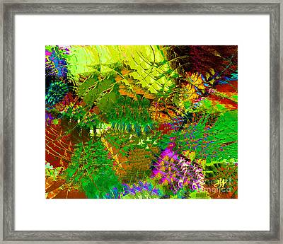 Savage Flowers Framed Print