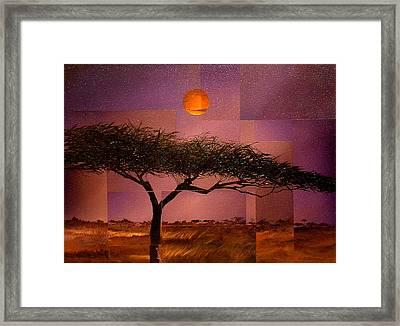 Savane Framed Print by Laurend Doumba