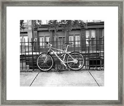 Savannah Bike  Framed Print