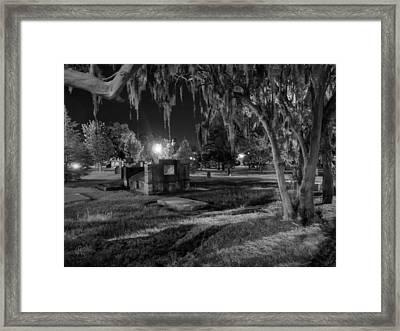 Savannah - Bonaventure Cemetery 003 Framed Print by Lance Vaughn
