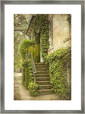 Savannah Doorway 1 Framed Print