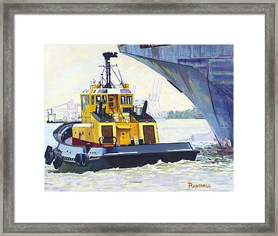 Savannah Escort Framed Print