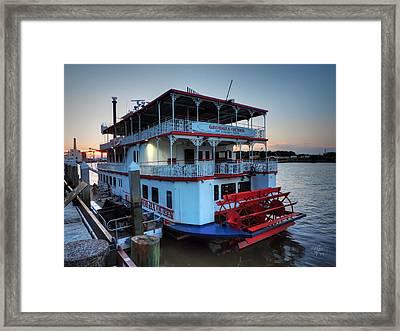 Savannah - Georgia Queen Framed Print
