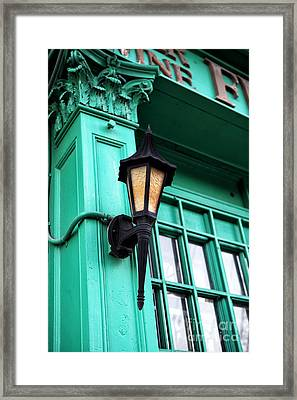 Savannah Lantern Framed Print